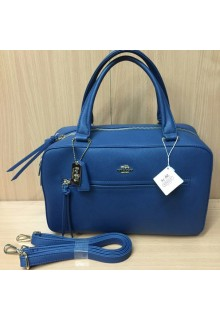 сумка Coach Leatherware Blue 002