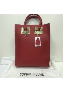 Сумка Sophie Hulme Large Leather Tote Bag 013